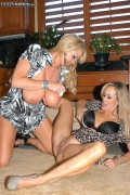 Brandi Love and Kelly Madison in action from Pornfidelity