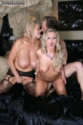 Bree Olson and Kelly Madison in group action from Pornfidelity