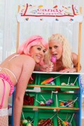 Jayda Diamonde and Katie Angel anal gaping from evilangel