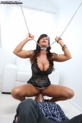 Amazing Lisa Ann looks good in chains from Pornfidelity
